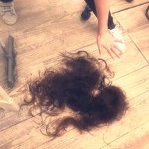 髪の毛を乾かす暇もな…