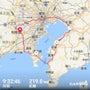 東京湾をぐるっと一周…