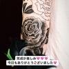 刺青★薔薇(腕)ブラックアンドグレー!の画像