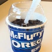 【マクドナルド】超盛り!マックフルーリー食べ比べ☆「超オレオ」VS「オレオクッキー」
