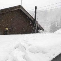 真冬の煙突掃除