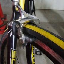 職場での自転車修理が…