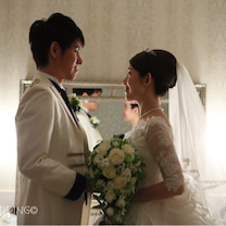 【当日レポ】花嫁控室で写真撮影の記事に添付されている画像