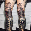 刺青★夫婦金魚(脚)鴉彫り!の画像