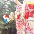 【新作】大切な日の和柄ネイル2♡結婚式、成人式、前撮りに*youkittanpu*