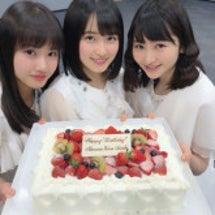 誕生日ケーキわーい\…