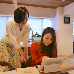 山中愛先生の「freeeで確定申告レッスン@土屋グループ銀座ショールーム」の画像