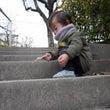 ターザン、階段を極め…