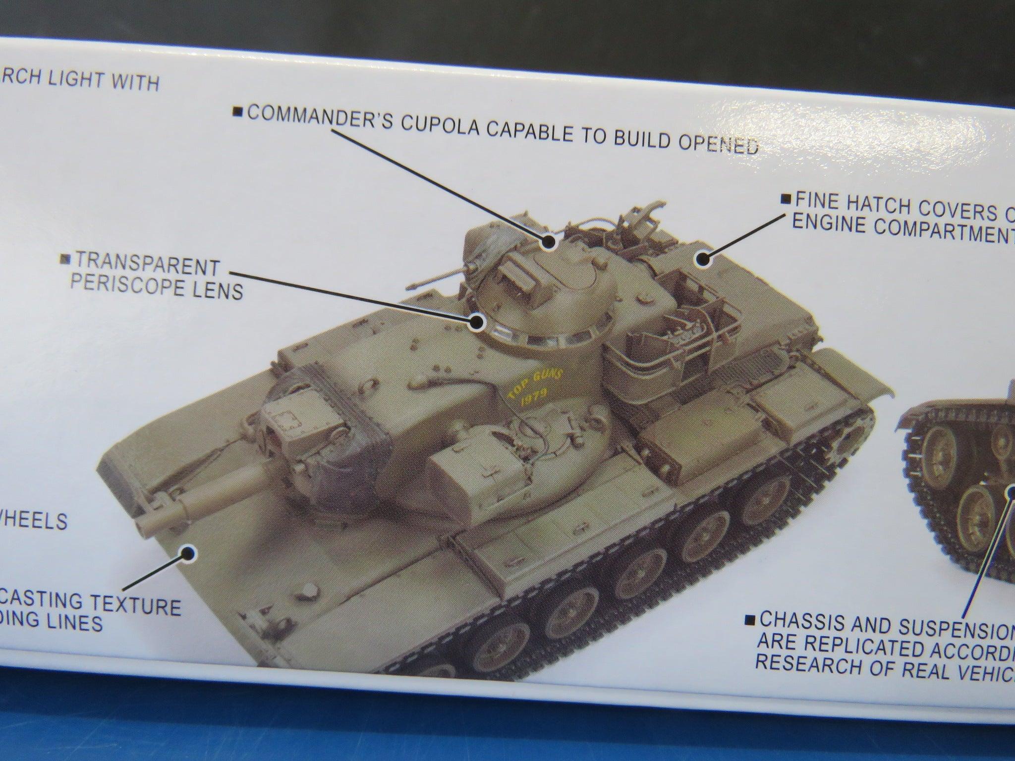 KIT AFV CLUB 1//35 n° 35230 Char de combat US M60A2 PATTON 1980