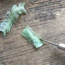 公開!ミモザの布花の作り方の記事に添付されている画像