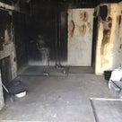 火事物件の内装解体の記事より