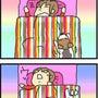 ★4コマ漫画「寝ると…