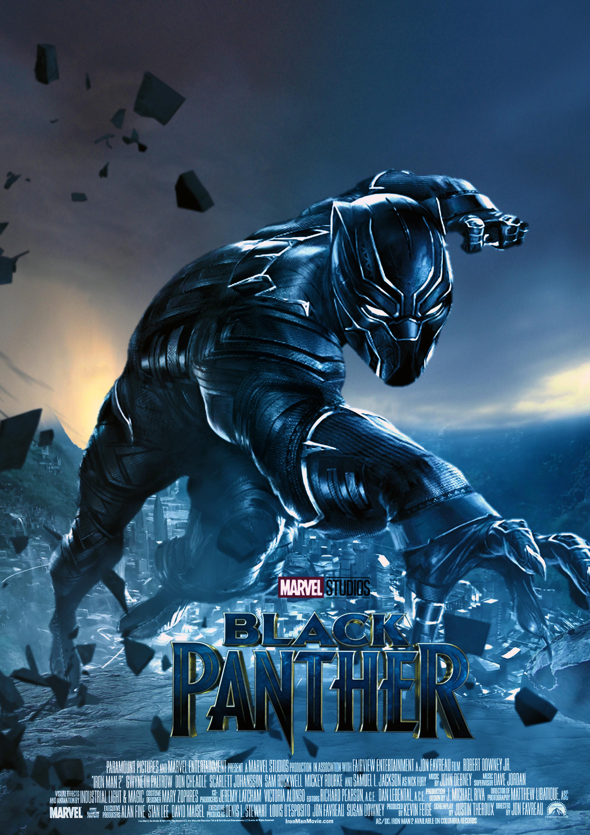 Wall Sticker Images ブラックパンサー(black Panther) 田舎に住んでる映画ヲタク