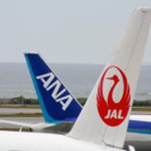 「JAL」と「ANA…