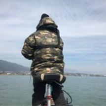 琵琶湖なう