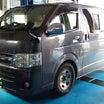 200系トヨタハイエ-ス 乗り心地改善 ふらつき改善  オ-リンズ 栃木県から 茨城より