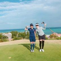 ゴルフ合宿。