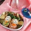 3月第1週の塾弁、今週はひなまつりがあったのでカワイイ系やお寿司系多めで仕上げました♪の画像