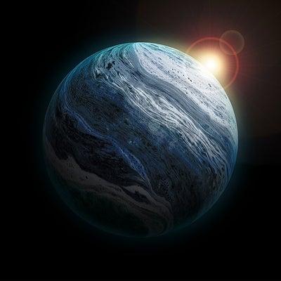 天王星①の記事に添付されている画像