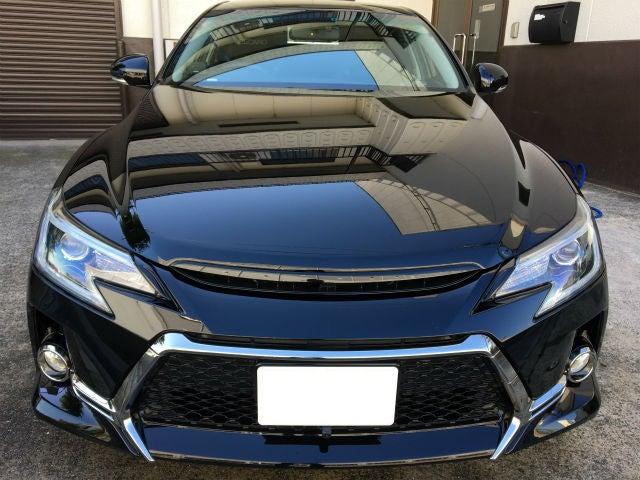 洗車傷消し効果の高いカーコーティングをトヨタ/マークX に施工した評判・人気・評価・おすすめ
