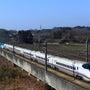 那須塩原で新幹線撮影…