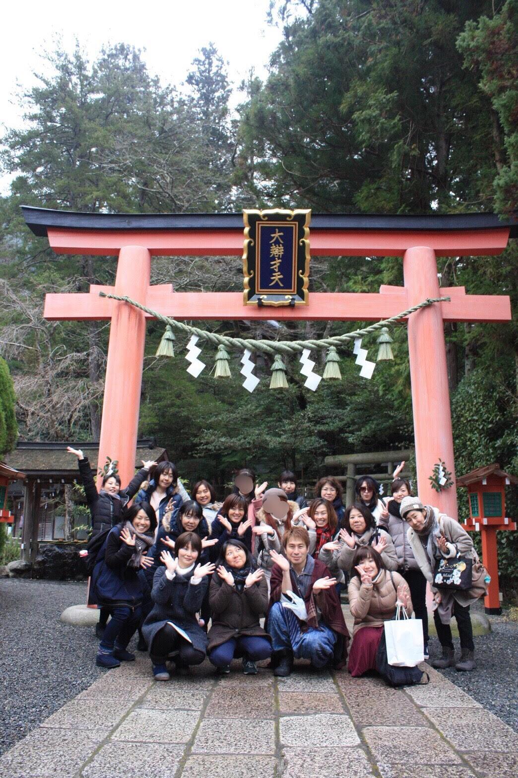 SHINGOの天河神社ツアー
