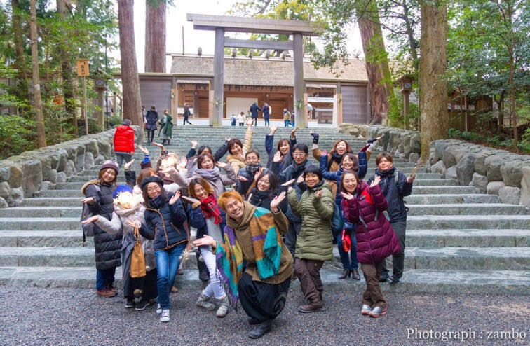 SHINGOの伊勢神宮ツアー