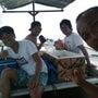 ヌサドゥアまでボート…