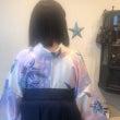 卒業式☆袴の着付け