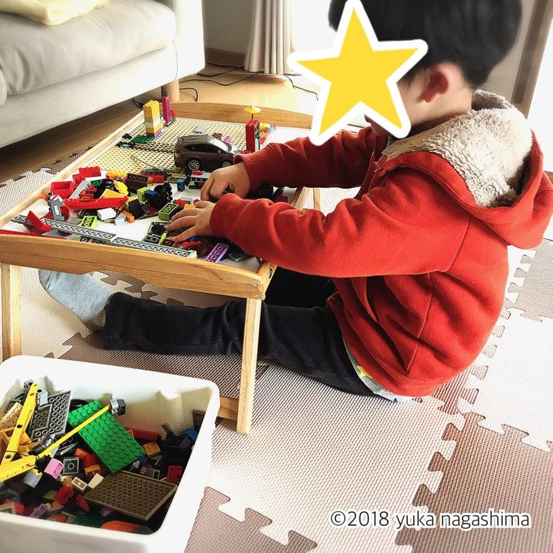 IKEA DJURA ベッドトレイ レゴトレイ プレイテーブル