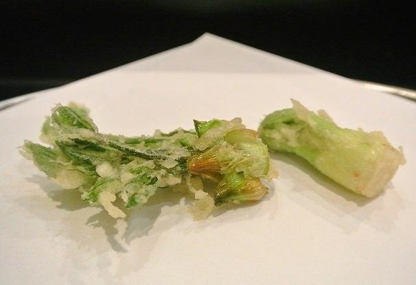 天ぷら天真 コシアブラとタラの芽
