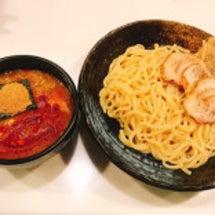 「辛味つけ麺」麺や桜…
