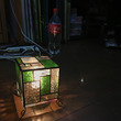 キューブ型のランプ★…