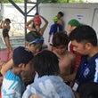 他校との競泳大会