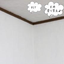 DIY 天井の塗り替…