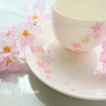 *桜ティーセット*