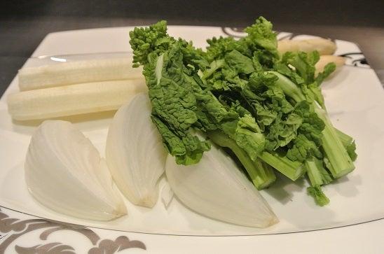 鉄板焼 石垣島きたうち牧場 銀座店 季節の野菜