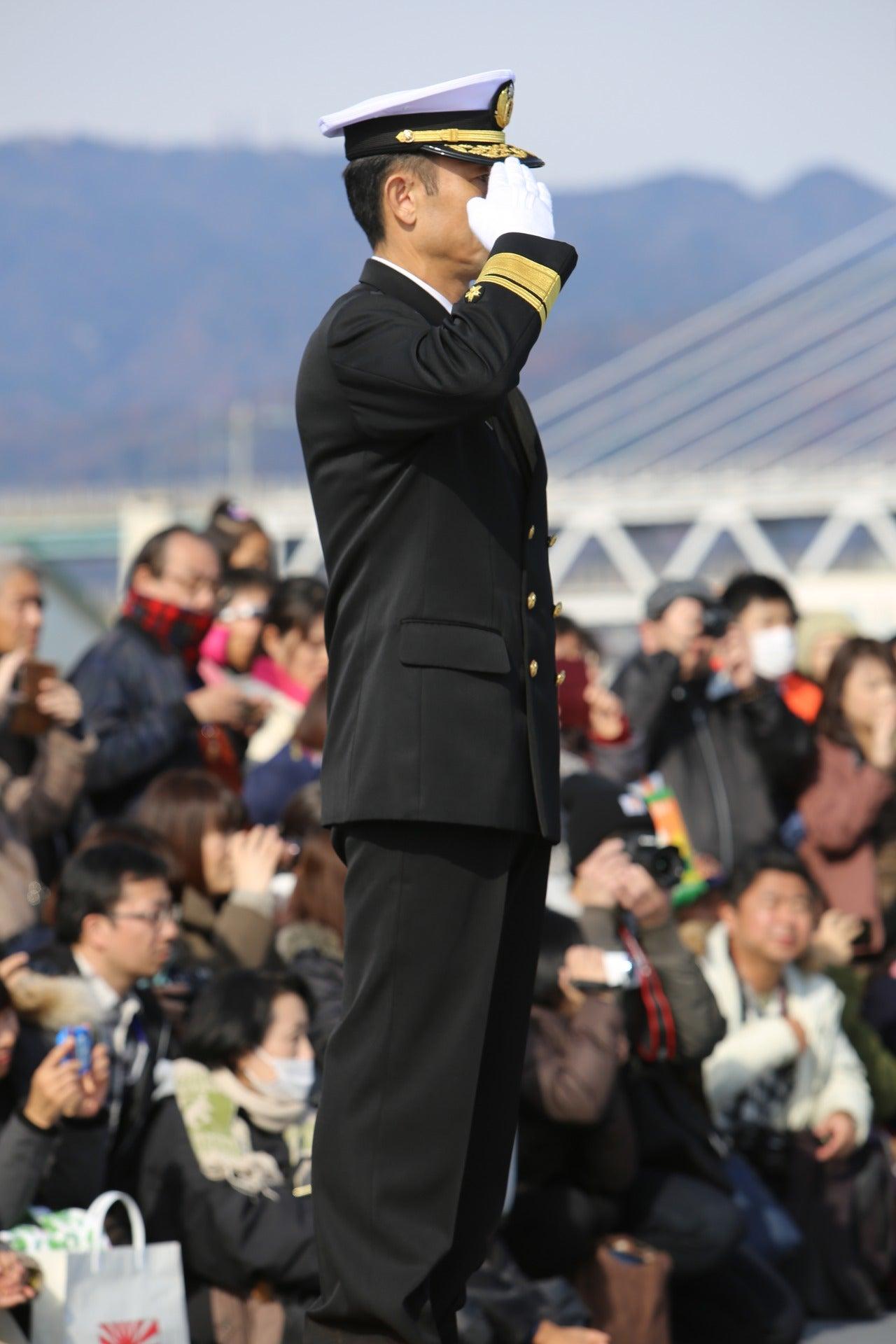 Let's begin!海自・護衛艦「しまかぜ」(DDG-172)艦艇広報・阪神基地隊・12/10・・・その4