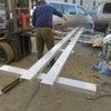 門型、2柱、リフト納品準備!の画像