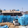 屋根の葺き替え 鍾馗…