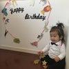 1歳のお誕生日。の画像