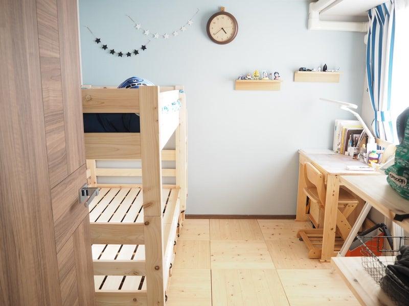 ついに子供部屋に二段ベッドが!組み立て&設置レポ | ワーキング