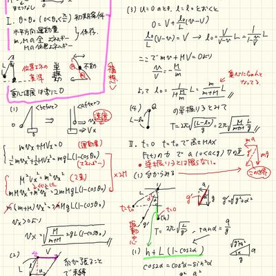 東京大学2018年物理第1問(軽い検証含む)の記事に添付されている画像
