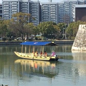 広島城遊覧船運航に関するお知らせ