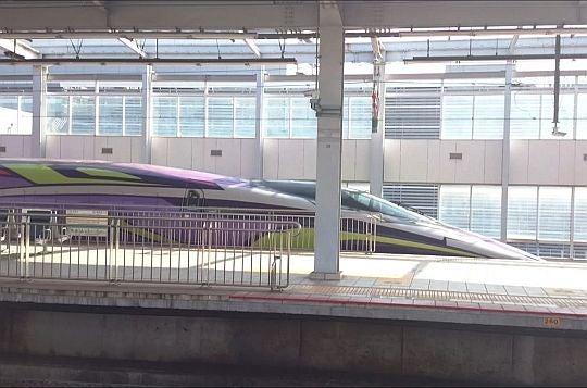 小倉駅で見た新幹線