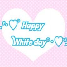 ホワイトデーのお菓子…