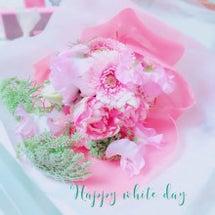 ホワイトデーにお花♡