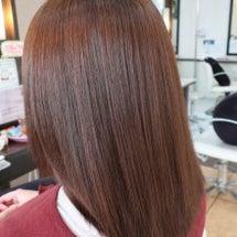カラーでツヤ髪♪