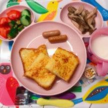お弁当とごはん(3歳…