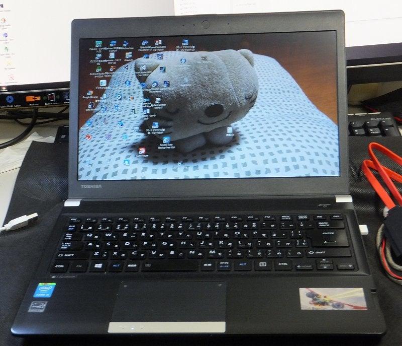 HDD を SSD に完全コピーする クローン 作業 ...